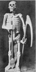 lo scheletro di Ankou